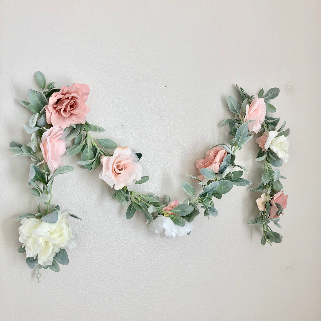 nursery wall decor nursery wall hanging girl nursery decor girl garland decor floral nursery
