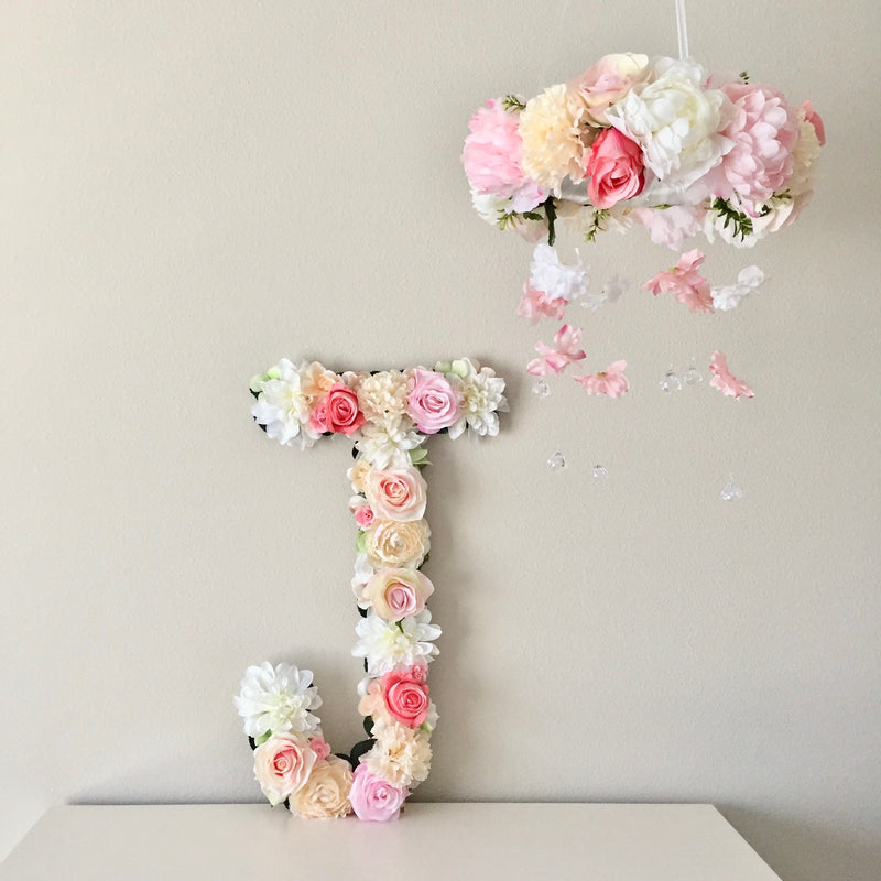 flower mobile floral mobile floral letter and mobile
