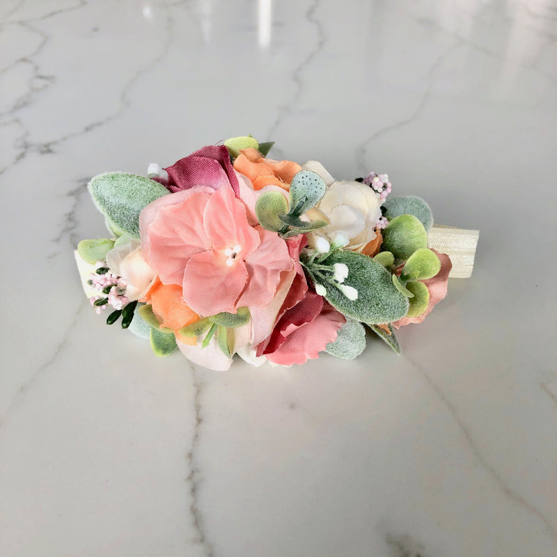 custom flower crown baby