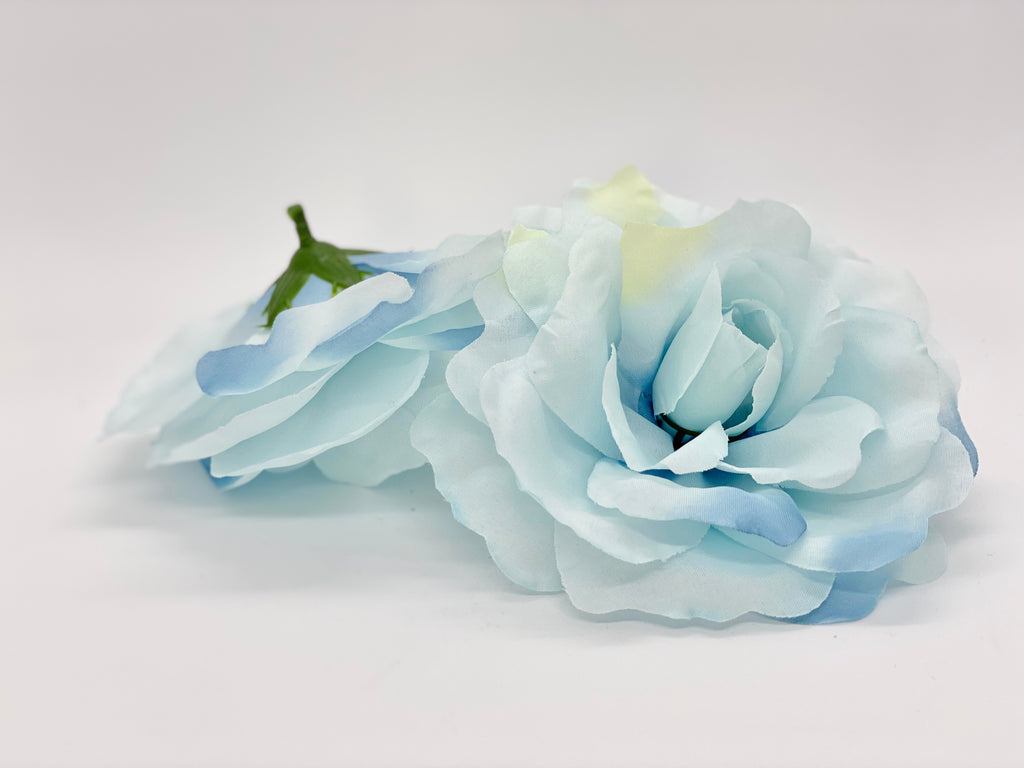 "5"" Large Light Blue Rose"