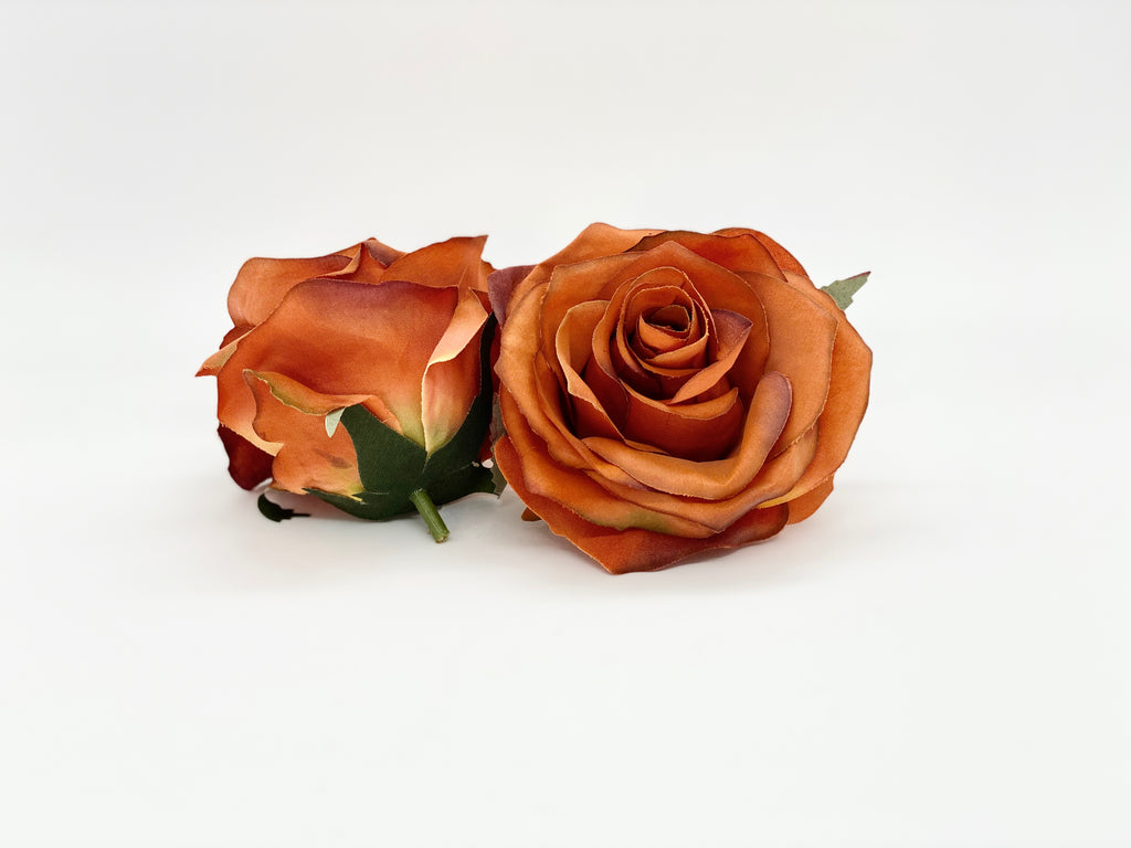 "3.5"" Burnt Orange Rose"