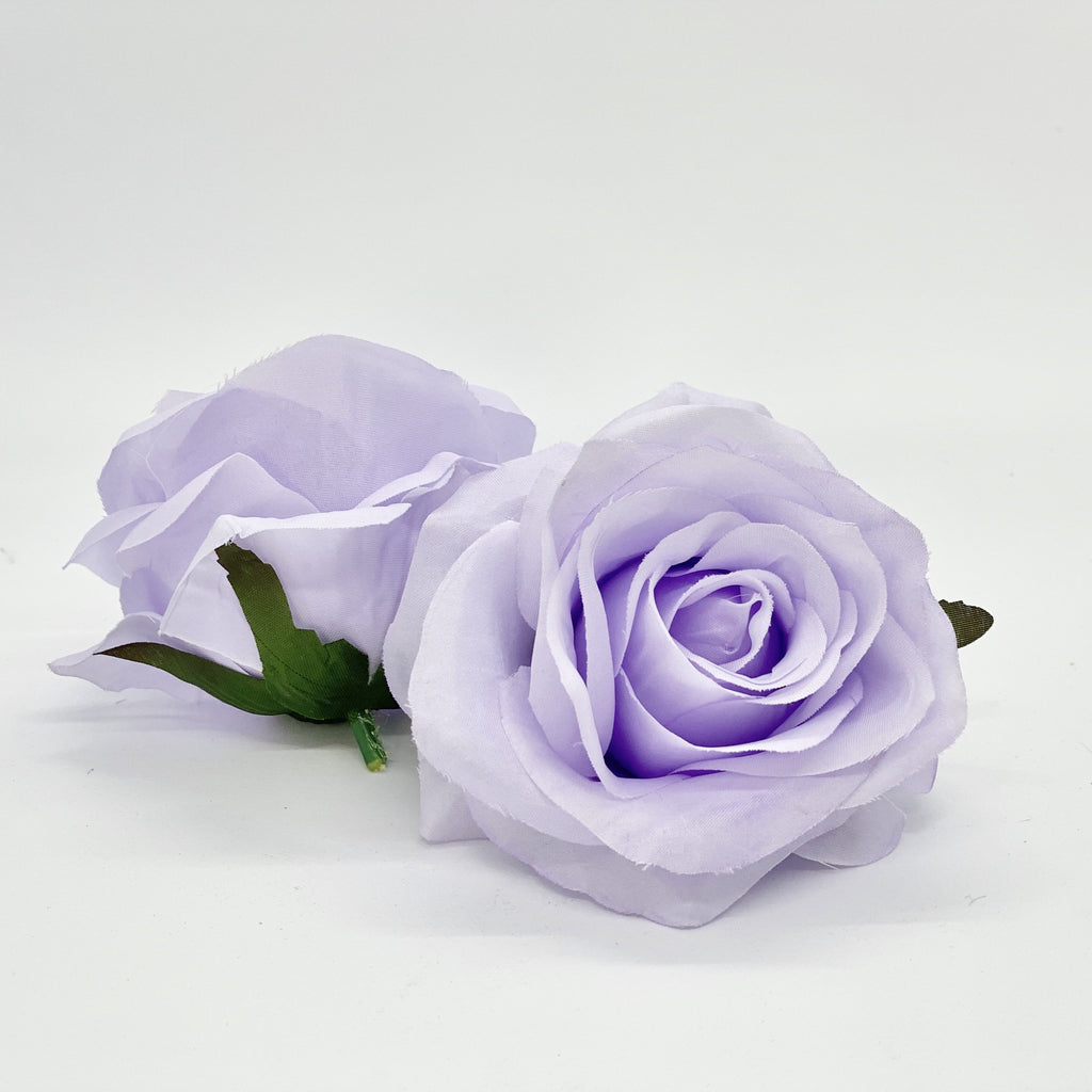 "3"" Light Lavender Rose Lilac Rose Artificial Lavender Rose Artificial Light Purple Flower Lavender Silk Flower Light Purple Silk Flower"
