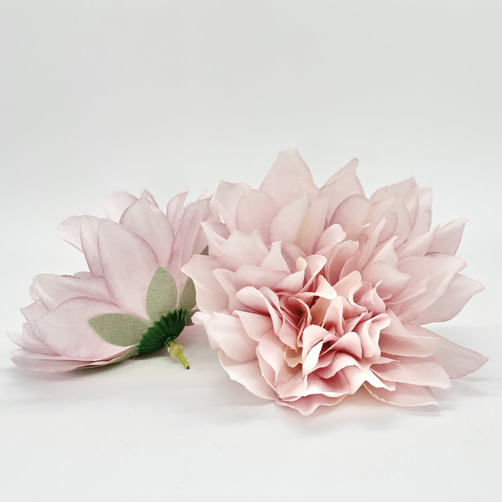 "5"" Artificial Dahlia Dusty Rose Pink Dahlia High Quality Artificial Flower Dahlia Dusty Mauve Flower Dusty Pink Flower Dusty Pink Silk"