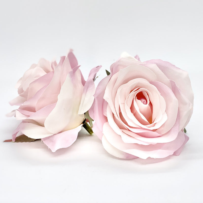 "3.5"" Light Pink Rose Light Pink Artificial Rose Pale Pink Flower Pink Silk Flower Wedding Cake Flower Decor Wedding Flower Blush Pink Rose"