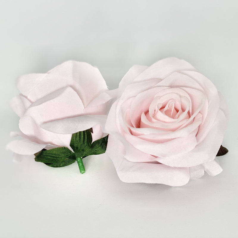 "3"" Pale Pink Rose Light Pink Artificial Rose Pale Blush Pink Rose Pale Pink Artificial Flower Blush Artificial Flower Blush Wedding Flower"