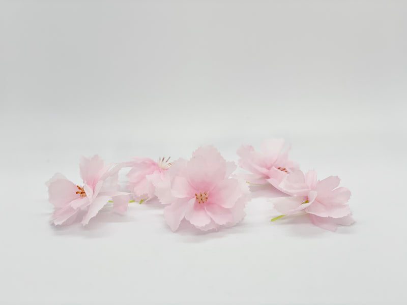 "Set of 5 x 2"" Cherry Blossoms"