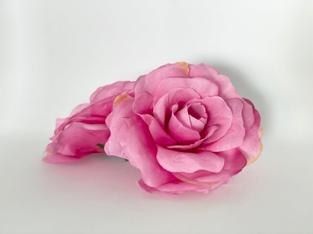 "5"" Large Fuchsia Pink Rose"