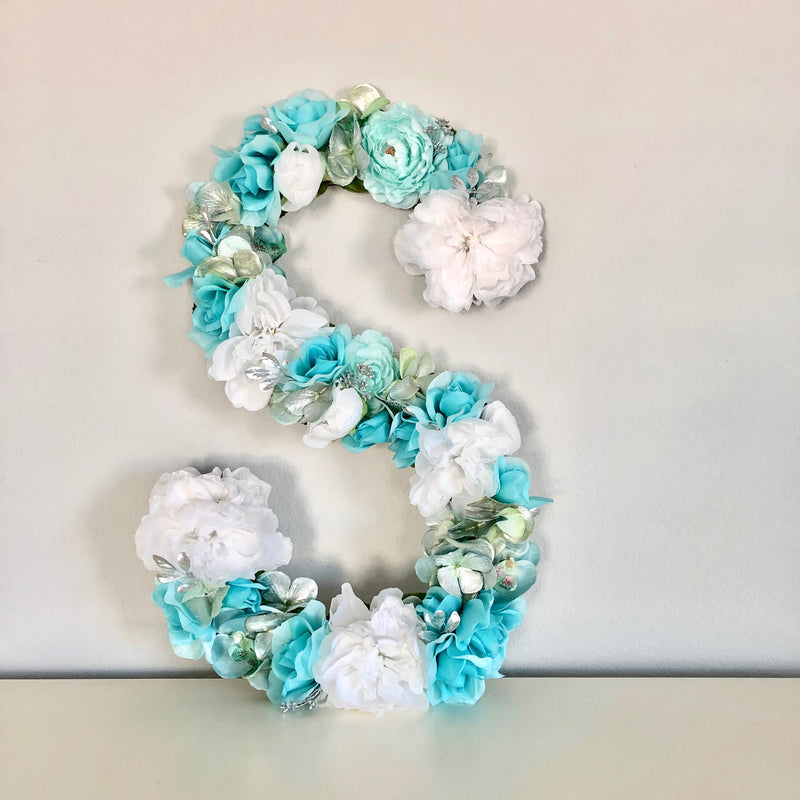 aqua birthday decor mermaid birthday decor floral birthday decor mermaid theme decor
