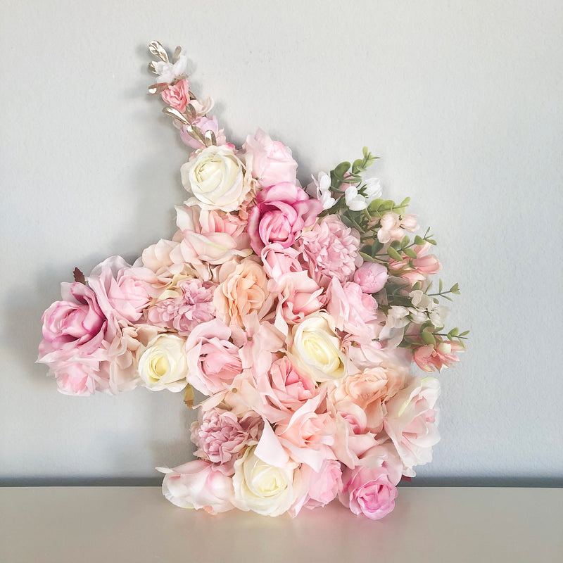 Custom Floral Unicorn