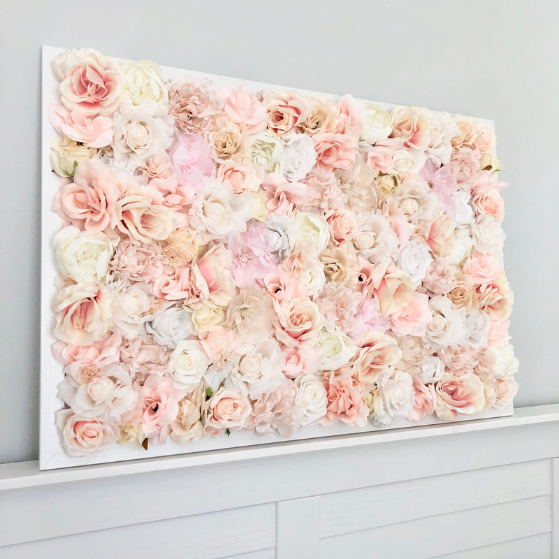 flower wall peony wall decor rose wall decor custom flower wall nursery wall decor girl nursery decor girl