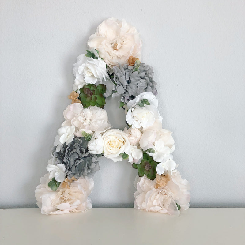 neutral nursery decor gender neutral nursery wall decor floral letter