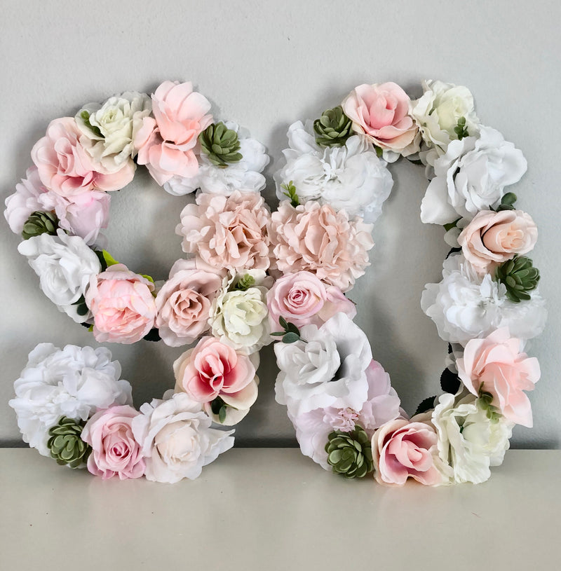floral number 90th birthday party decor flower number
