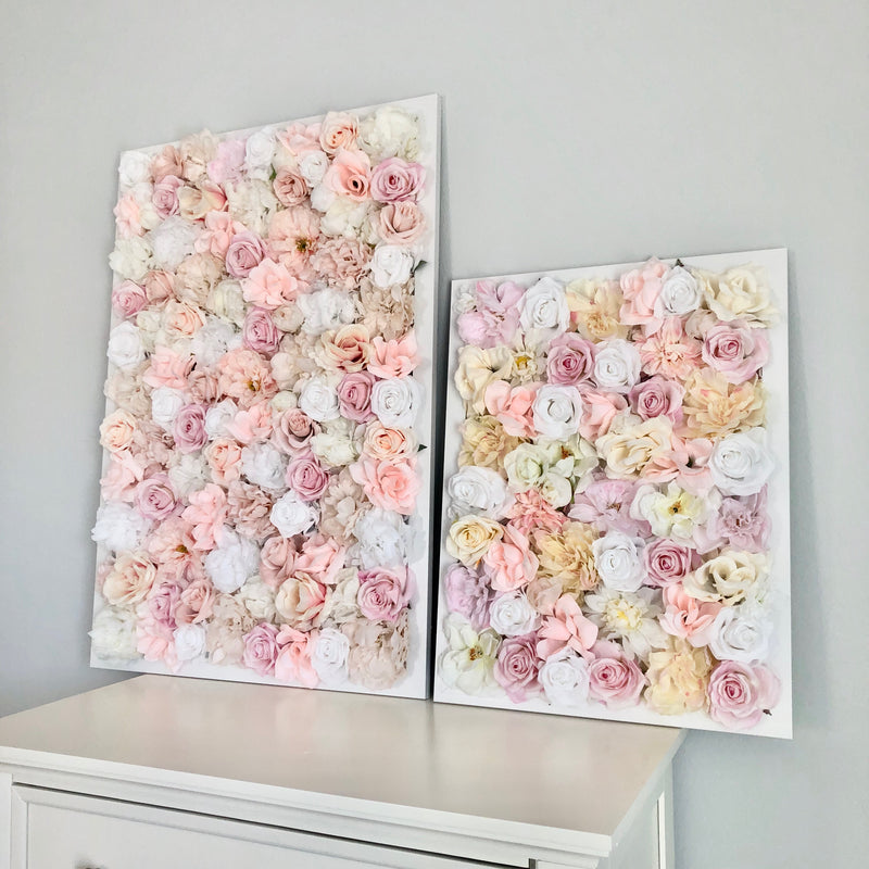 custom flower wall decor floral wall hanging baby shower flower wall backdrop bridal shower flower wall