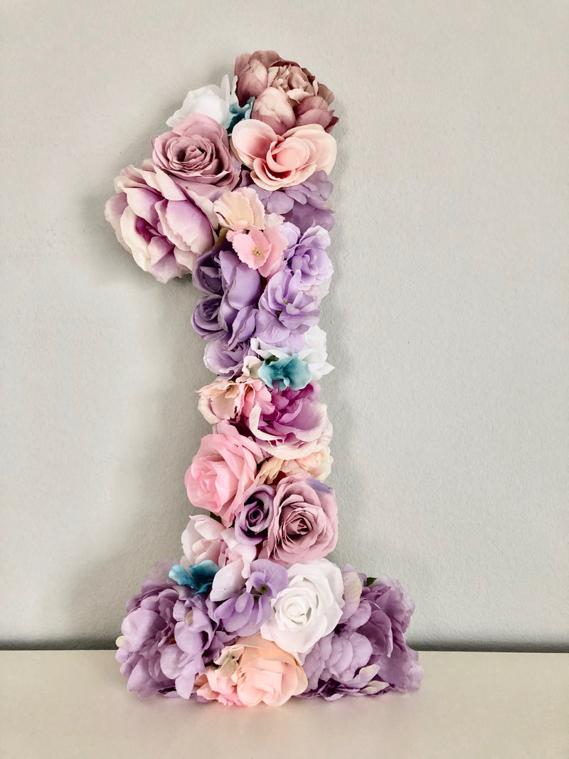 lavender birthday flower number flower birthday girl