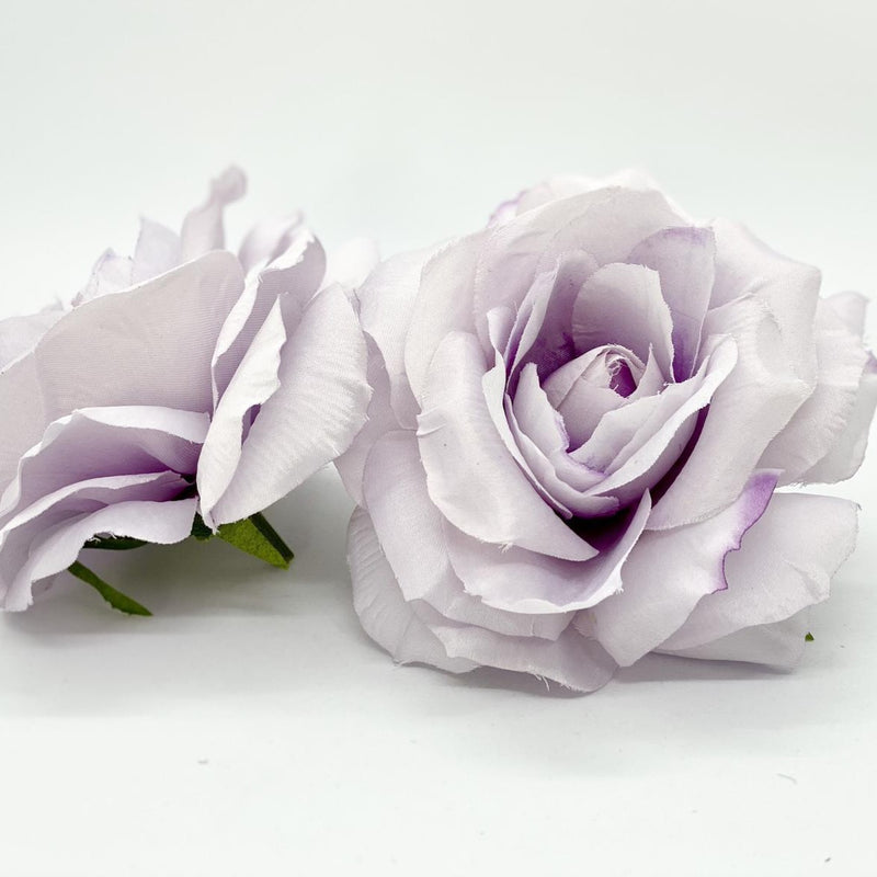 "3.5"" Lavender Silk Flower Light Lavender Artificial Wedding Flower Lilac Artificial Rose Dusty Lavender Rose Pale Lavender Wedding Decor"
