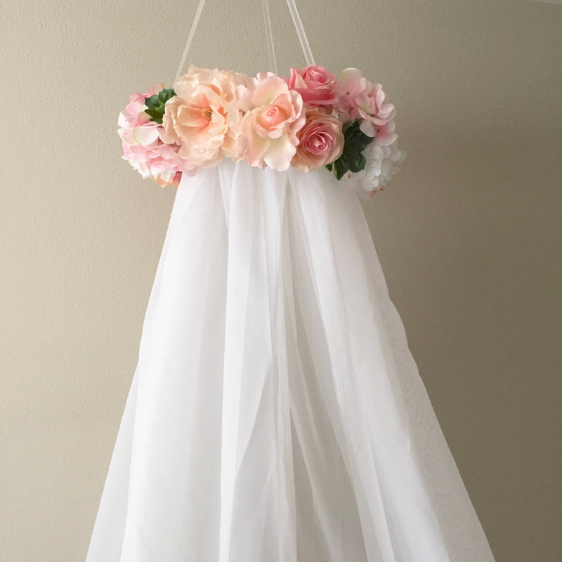 nursery canopy floral canopy mobile