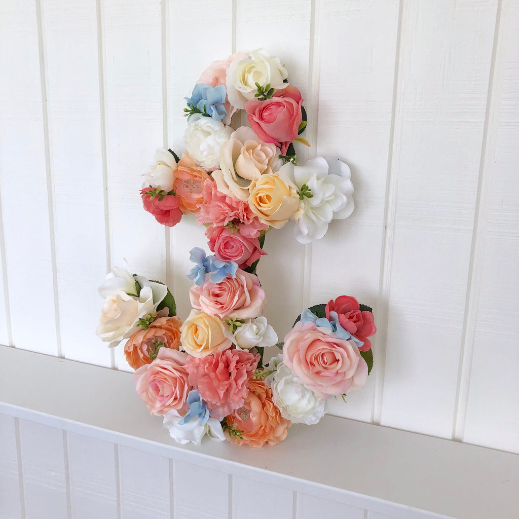 anchor flower wal decor