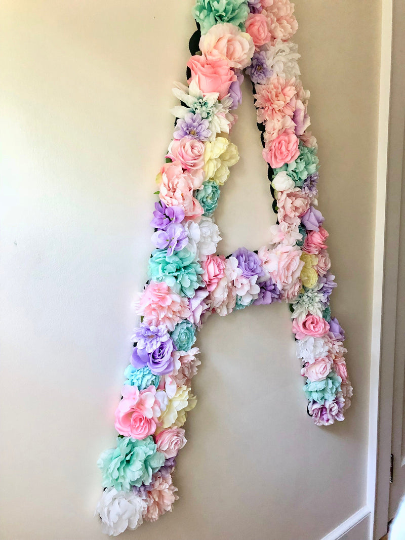 Extra Large Flower Letter