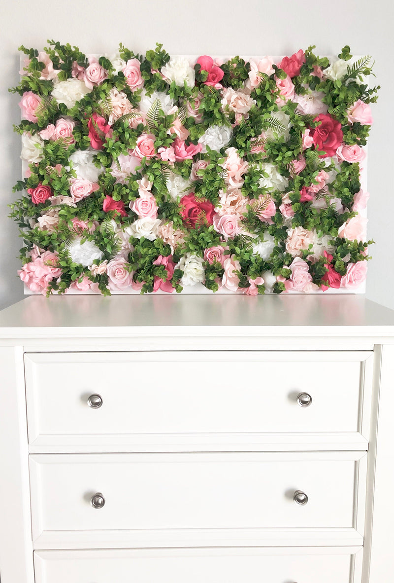 greenery floral wall decor