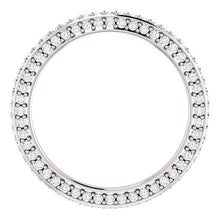 Moissanite Eternity Band - I Heart Moissanites
