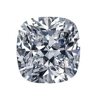 Crushed Ice Cushion Cut Moissanite - I Heart Moissanites