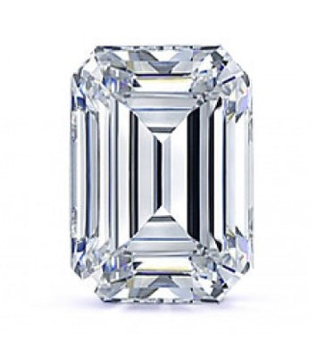 Emerald Cut Moissanite