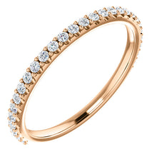 Diamond Wedding Band - I Heart Moissanites