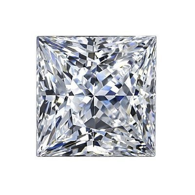 Princess Cut Moissanite - I Heart Moissanites