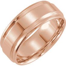 Men's Flat Edge Wedding Band