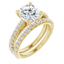 Round Brilliant Claw Set Style Engagement Ring