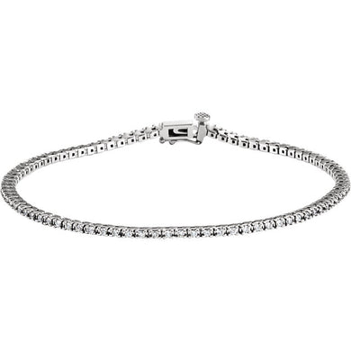 1.00ct Claw Set Tennis Bracelet - I Heart Moissanites
