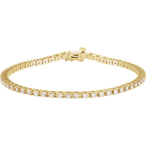 2.00ct Claw Set Tennis Bracelet - I Heart Moissanites