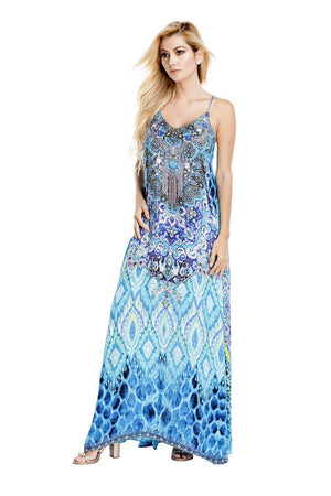 Demelza Embellished Maxi Dress