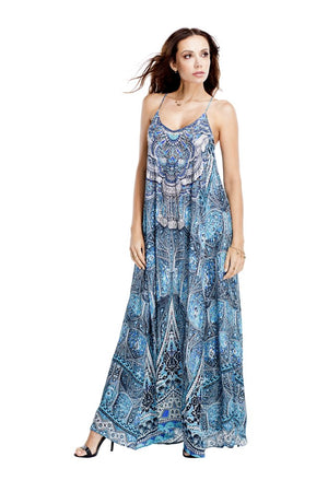Gabriella Embellished Maxi Dress