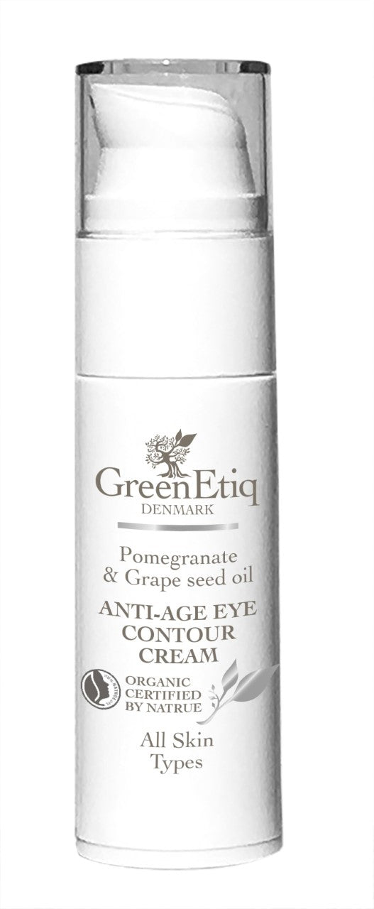 AntiAge Eye Contour Cream, med Pomegranate & Grapes oil