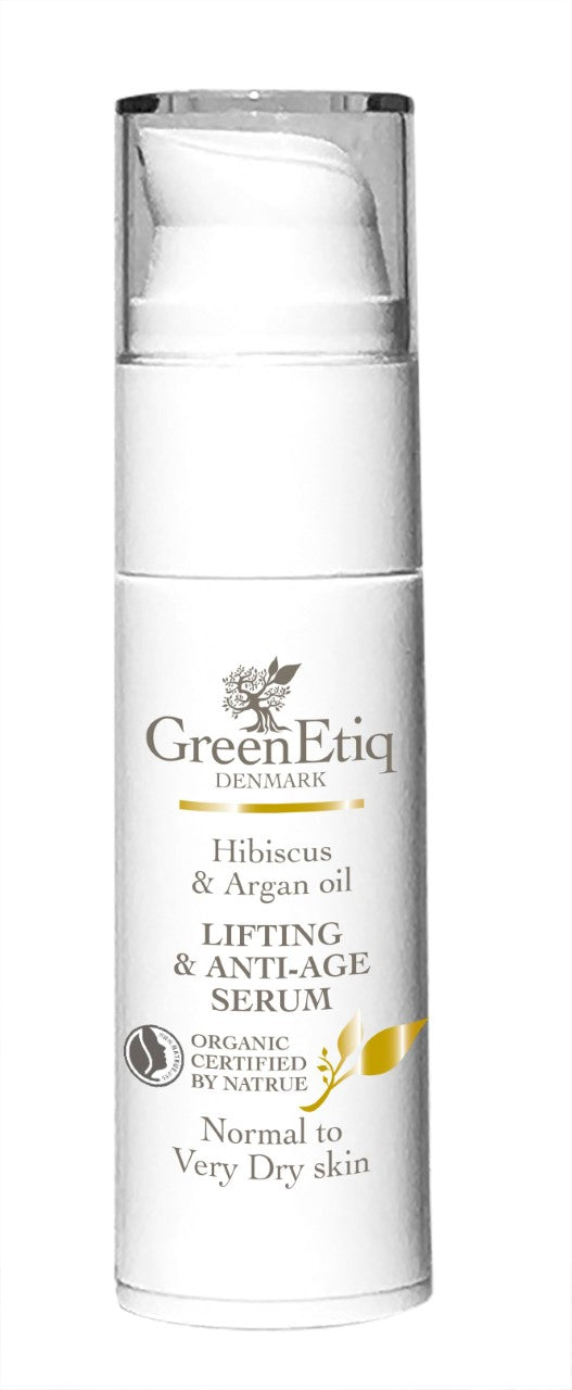 Hibiscus & Argan Oil, Lifting & AntiAge Serum