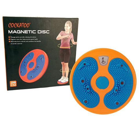Cockatoo Magnetic Disk Tummy Twister Ab Exerciser - Best Price online Prokicksports.com