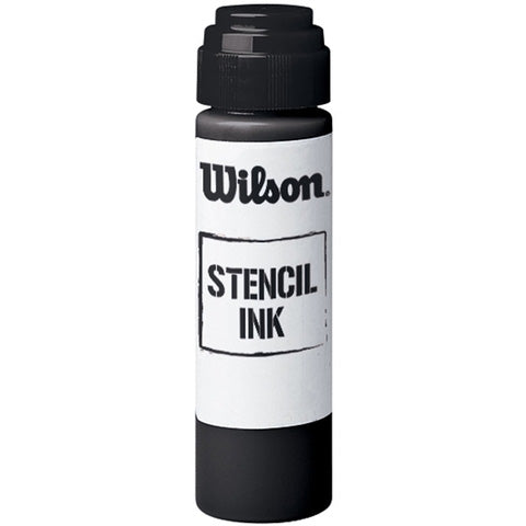 Wilson Black Stencil Ink for Rackets - Best Price online Prokicksports.com