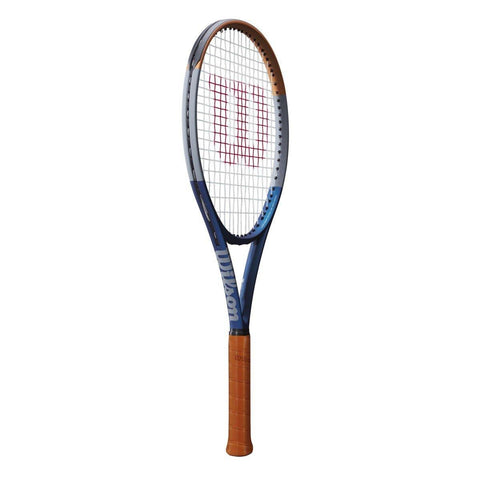 WILSON CLASH 100 RG LIMITED 16 X 19 (295 GMS) (UX) Grip Size L3(4 3/8) - BLUE/GREY/ORANGE - Best Price online Prokicksports.com