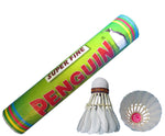 Penguin Super Fine Feather Shuttlecock - Pack of 10 - Best Price online Prokicksports.com