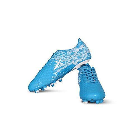 Vector X Turbo Football Shoes, Adult Blue/White - Best Price online Prokicksports.com