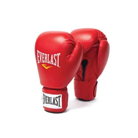 Everlast Amateur Competition Fight Boxing Gloves (Red) - Prokicksports.com