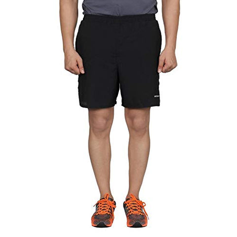 Vector X Polyester Sports Shorts for men, Black - Best Price online Prokicksports.com