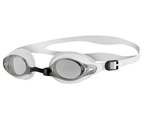 Speedo Mariner Supreme Swimming Goggle - Black White - Prokicksports.com