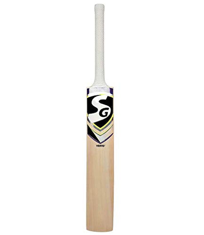 SG Verto Kashmir Willow Cricket Bat, Short Handle - Best Price online Prokicksports.com
