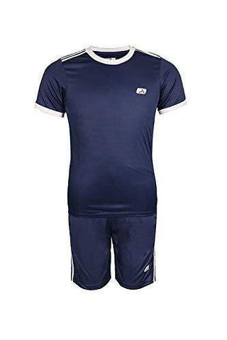 Vector X Football Set (T-Shirt & Short) Navy - Best Price online Prokicksports.com
