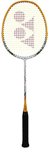 Yonex Nanoray Light 11I Graphite Badminton Racquet, G4-4U (White/Orange) - Best Price online Prokicksports.com