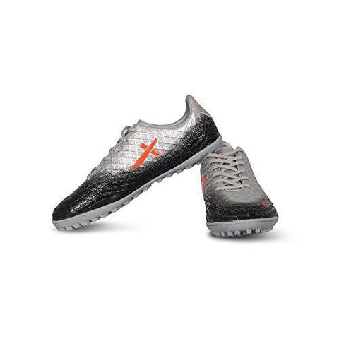 Vector X Furious Indoor Synthetic Men's Football Shoes Silver/Black - Best Price online Prokicksports.com