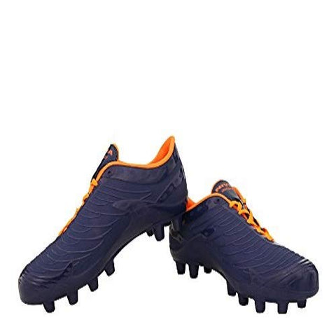 Nivia Dominator Football Stud, (Blue/orange) - Best Price online Prokicksports.com