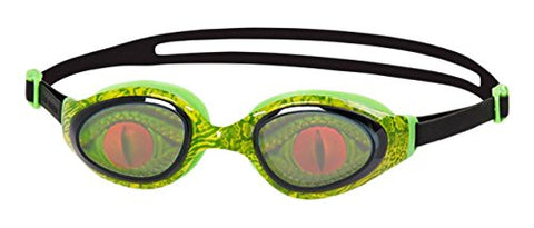 Speedo Holowonder Goggles, Junior One Size (Green/Smoke) - Prokicksports.com